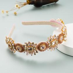 Hiuspanta|SUGAR SUGAR, Great Gatsby Hairband in Pink -kimaltava panta