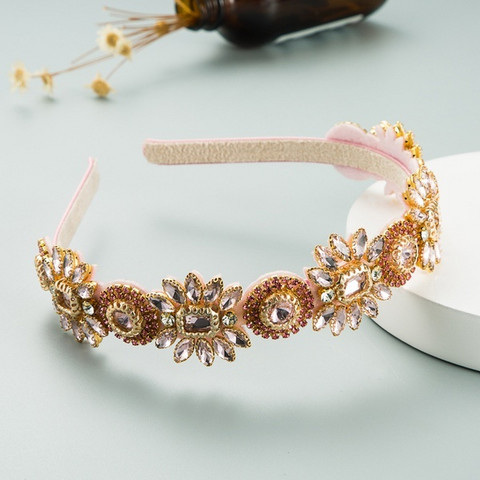 Hiuspanta|SUGAR SUGAR, Great Gatsby Hairband in Pink -kimaltava panta