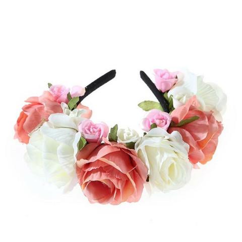 Kukkapanta|SUGAR SUGAR, Summer Roses in Peach -persikkainen kukkapanta