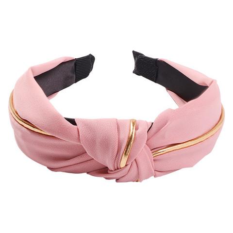 Hiuspanta|SUGAR SUGAR, Gold Details Hairband -roosa panta
