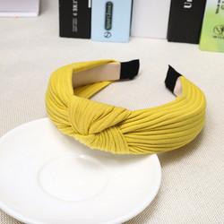Hiuspanta|SUGAR SUGAR, Rib Hairband in Yellow -keltainen hiuspanta