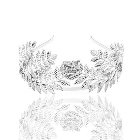Hiuspanta|SUGAR SUGAR, Greek Goddess in Silver -lehväpanta