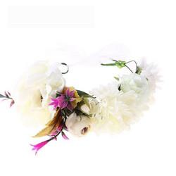 Kukkapanta|SUGAR SUGAR, Summer Love in White -valkoinen kukkakruunu