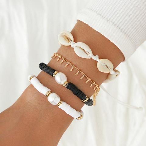 Rannekorusetti, FRENCH RIVIERA|Seaside Bracelets in Black & White