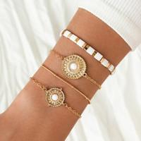 Rannekorusetti, FRENCH RIVIERA|Delicate Boho Chain Bracelets in Gold