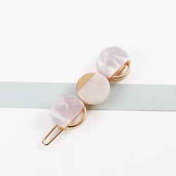 Hiuspinni|SUGAR SUGAR, Minimalistic Gold Clip in Lilac