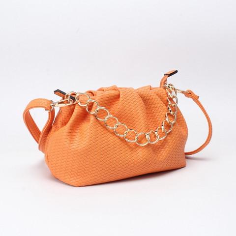 Laukku, BESTINI Paris|Pouch Handbag in Orange