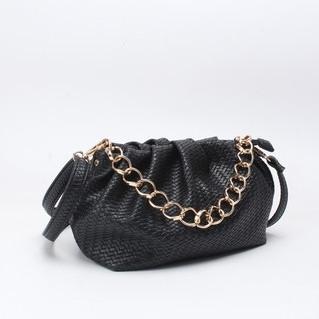 Laukku, BESTINI Paris Pouch Handbag in Black