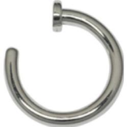 Lävistysrengas, nenärengas Open Nose Hoop 0,8mm