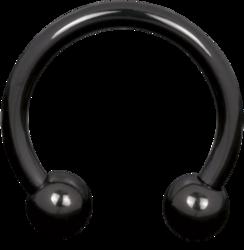 Hevosenkenkä 1,2mm|Titan Blackline® Horseshoe