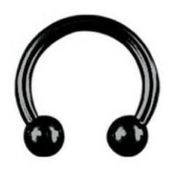 Hevosenkenkä 1,2mm|Steel Blackline® Horseshoe