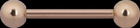 Barbell 1,6mm Steel Roseline®