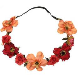 Kukkapanta|SUGAR SUGAR, Small Flowers in Orange -hiuspanta