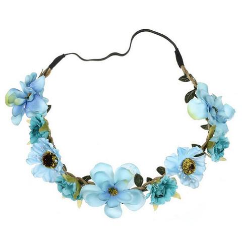 Kukkapanta|SUGAR SUGAR, Small Flowers in Blue -hiuspanta