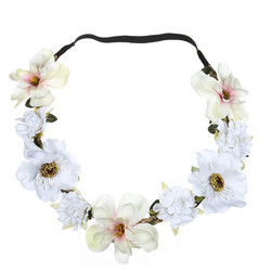 Kukkapanta|SUGAR SUGAR, Small Flowers in White -hiuspanta