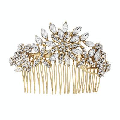 Hiuskoru, ATHENA BRIDAL Extravagance Hair Comb in Gold