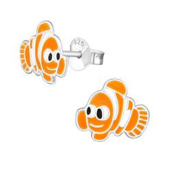 Lasten hopeakorvakorut, Clownfish Nemo -kalakorvakorut
