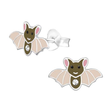 Lasten hopeakorvakorut, Bat -lepakkokorvakorut