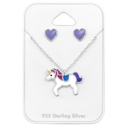 Lasten hopeakorusetti, Purple Unicorn -yksisarvinen