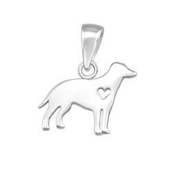 Hopeinen riipus, My Dog -koirariipus