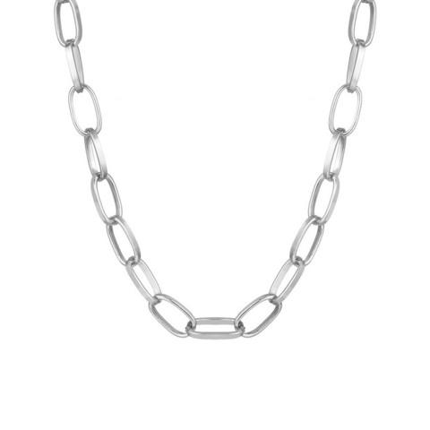 Kaulakoru, PAPARAZZI|Chokerstyle Fashion Chain in Silver