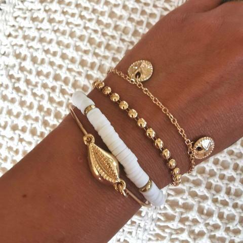 Rannekorusetti, FRENCH RIVIERA|Surf Bracelets in Gold