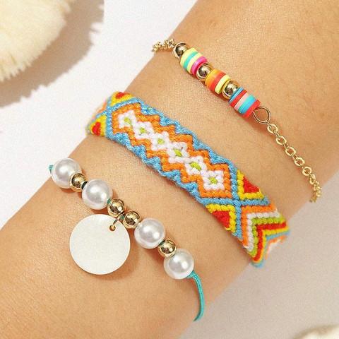 Rannekorusetti, FRENCH RIVIERA|Colourful Summer Bracelets