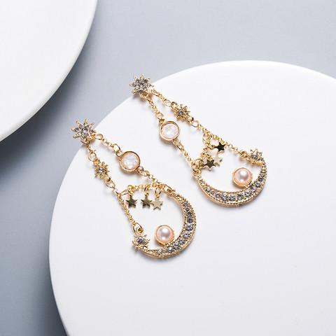 Korvakorut, FRENCH RIVIERA|Chic Boho Earrings in Gold