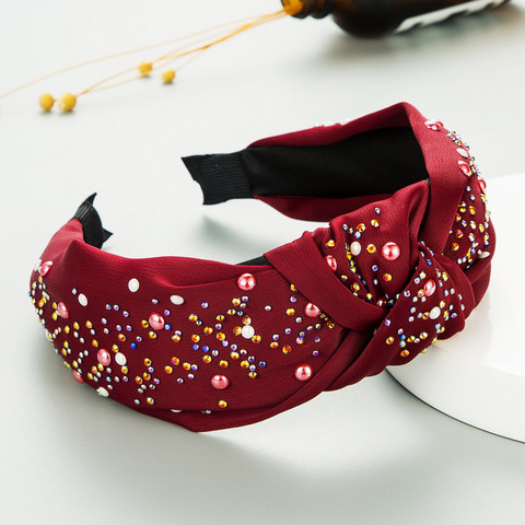 Hiuspanta|SUGAR SUGAR, Autumn Hairband in Burgundy