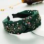 Hiuspanta|SUGAR SUGAR, Autumn Hairband in Dark Green