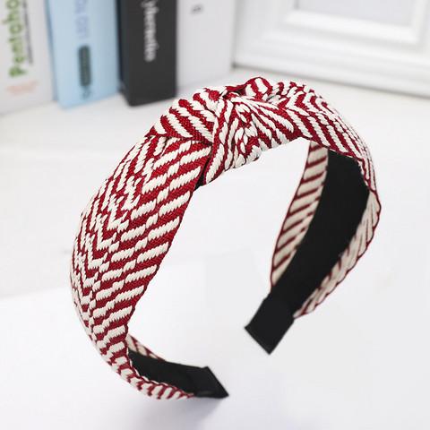 Hiuspanta|SUGAR SUGAR, Stripy Hairband in Red