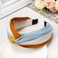 Hiuspanta|SUGAR SUGAR, Italian Holiday Hairband in Blue & Brown