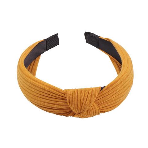 Hiuspanta|SUGAR SUGAR, Rib Hairband in Dark Yellow
