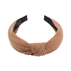 Hiuspanta|SUGAR SUGAR, Rib Hairband in Light Brown
