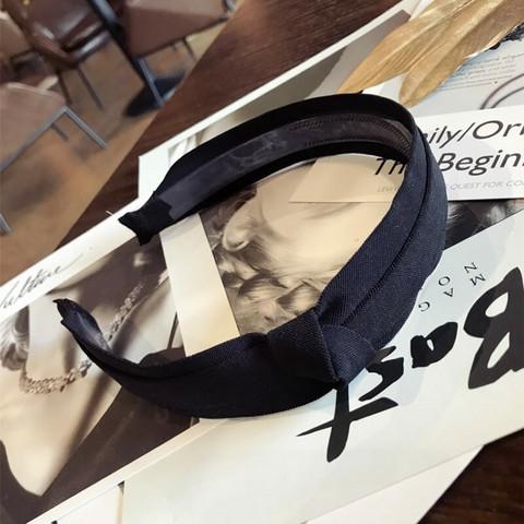 Hiuspanta|SUGAR SUGAR, Chic Bow Hairband in Black