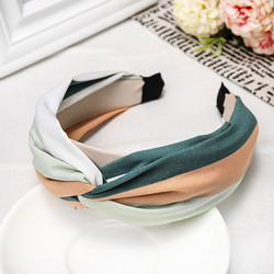 Hiuspanta|SUGAR SUGAR, Italian Holiday Hairband in Green & Apricot