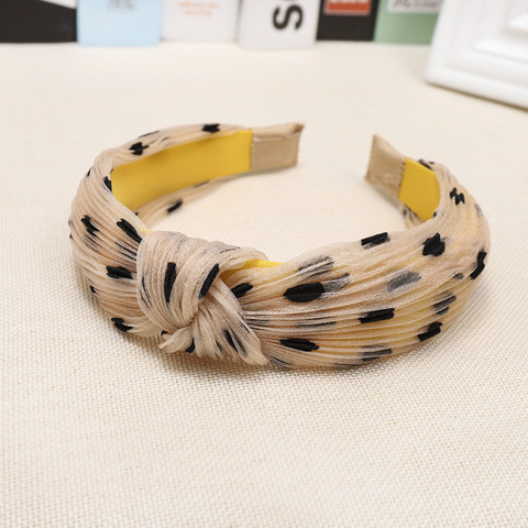Hiuspanta|SUGAR SUGAR, Sweet Polkadot Hairband in Beige