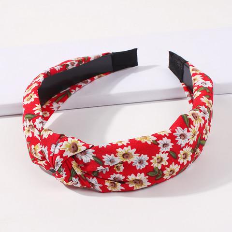 Hiuspanta|SUGAR SUGAR, Pretty Flower Hairband in Red
