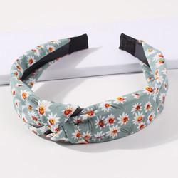 Hiuspanta|SUGAR SUGAR, Pretty Flower Hairband in Soft Green