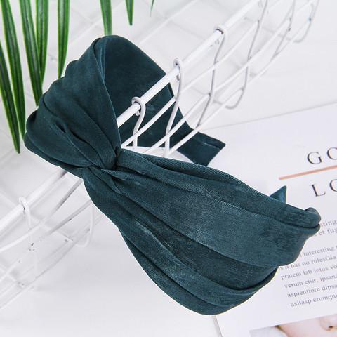 Hiuspanta SUGAR SUGAR, Comfy Knot Hairband in Emerald