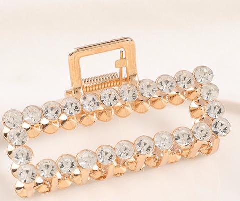 Hiussolki, hainhammas|SUGAR SUGAR, Simple Sparkling Hairclip in Gold