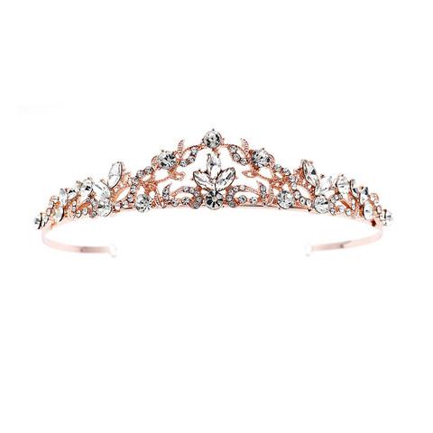 Hiuskoru, tiara ROMANCE Classic Tiara in Rosegold