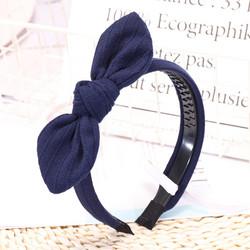 Hiuspanta|SUGAR SUGAR, Dark Blue Bow -tummansininen hiuspanta