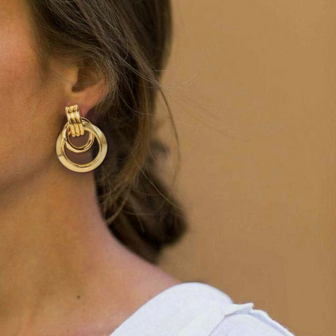 Korvakorut, FRENCH RIVIERA|Classic Gold Earrings
