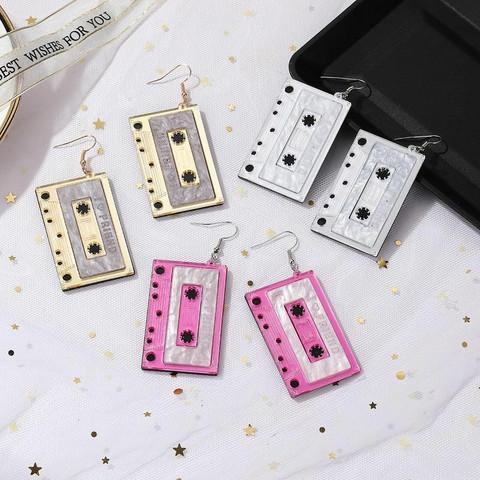 Korvakorut, PAPARAZZI Large C-Cassette Earrings