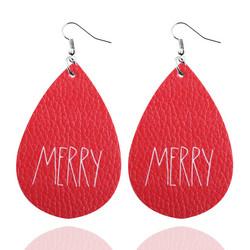 Joulukorvakorut, Christmas Teardop/Merry