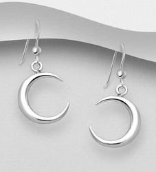 Hopeiset korvakorut, Crescent Moon -kuunsirppikorvakorut