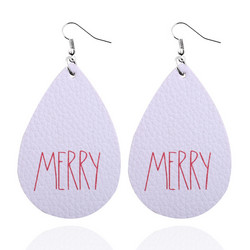 Joulukorvakorut, Christmas Teardop/Merry in White