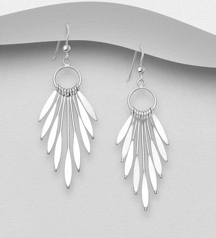 Hopeakorvakorut, PREMIUM COLLECTION| Minimalistic Earrings