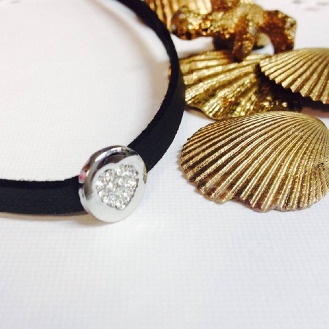 Kaulakoru, Choker with Silver Heart